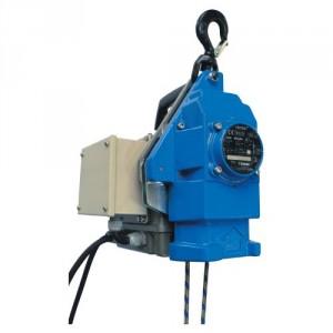 Palan électrique portable à câble passant MINIFOR à câble SYNTHETIQUE - Avec télécommande FILAIRE - Capacité 100 kg