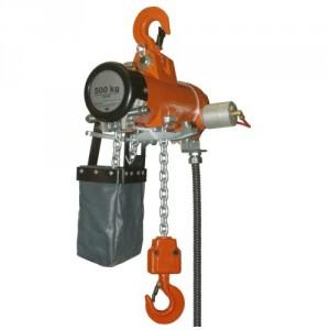 Palan pneumatique à chaîne KA - Capacité 0,25 t à 2 t