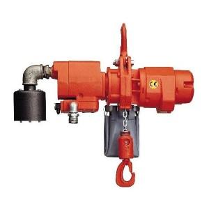 Palan pneumatique à chaîne AP - Capacité 0,5 t à 30 t