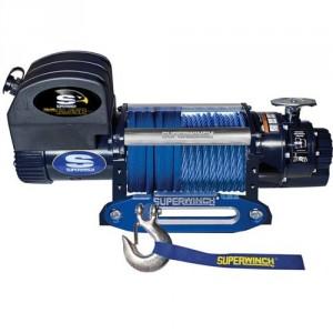 Treuils de halage 12 V & 24 V 4309 kg et 5670 kg - Série EP : relais de commande dans coffret séparé étanche