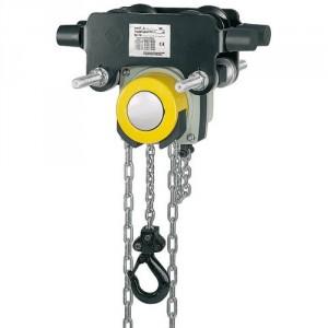 Palan manuel à chaîne combiné avec chariot à direction par poussée (YLITP) ou par chaîne (YLITG) - Capacité 0,5 t à 5 t
