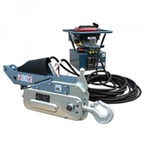 Treuils motorisés à câble passant SUPERTIRFOR à commande hydraulique - Capacité 1,6 t