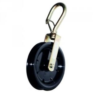 Poulie libre pour corde force DE - Capacité 40 kg