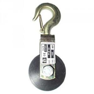Poulie à chape pour corde avec réa nylon PNC - Capacité 150 kg à 1000 kg