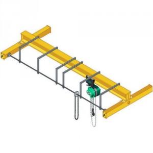 Pont roulant manuel posé PRMP - Capacité 0,5 t à 10 t