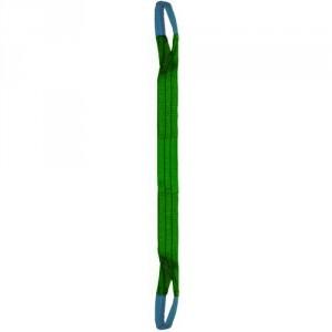 Elingue textile plate standard B2 avec 2 boucles restreintes - Capacité 0,5 t à 10 t
