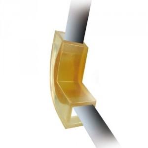 Coin de protection en polyuréthane CPF pour élingues textiles rondes ou élingues câble