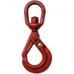 Crochet de sécurité à émerillon KUPLEX KHXS GRADE 100 - Capacité 2 t à 6,7 t
