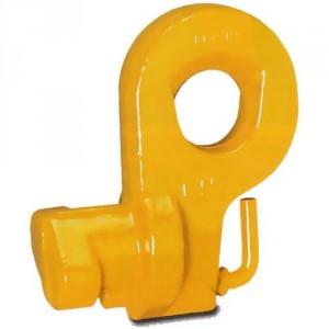 Crochet de conteneurs MCB avec verrouillage, prise du conteneur par le coté - Capacité 32 t à 40 t