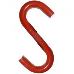 Crochet d'arrimage 'S' H.R. avec oeil ouvert SO - L.C. 0,2 t à 6 t