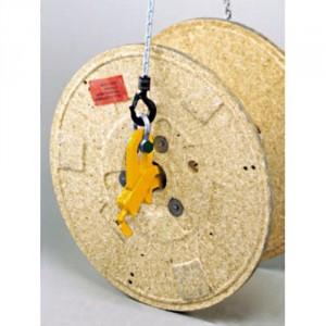 Crochet pour bobines de câbles CK avec verrouillage - Capacité 5 t