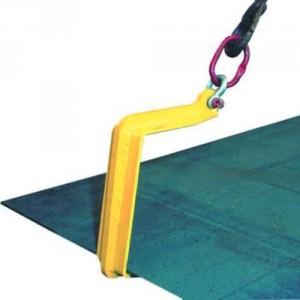 Crochets simples QS pour levage HORIZONTAL de plaques - Capacité 1,5 t à 6 t