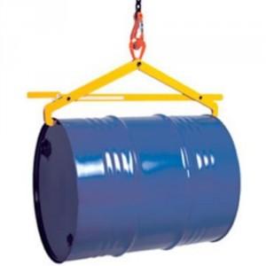 Pince HF pour levage horizontal de fûts acier à rebords - Capacité 0,5 t