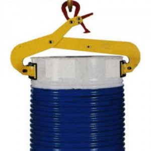 Pince semi-automatique VFR pour le levage vertical de fûts acier Ø 400 mm à Ø 600 mm - Capacité 0,5 t