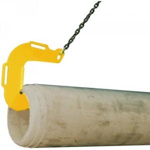 Crochets TB pour tuyaux béton - Capacité 1 t à 3 t par paire
