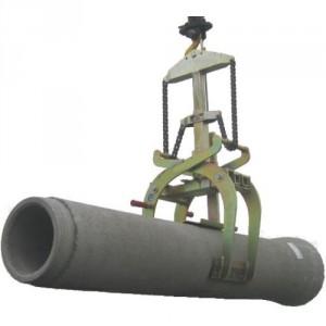 Pince pour tuyaux béton Ø 200 à 800 mm - Capacité 1,5 t