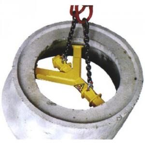 Palonnier 2 points CX et 3 points SCX pour cônes béton - Capacité 1 t