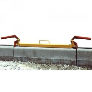 Pince pour bordures de trottoir de 1 m BX01 avec poignées - Capacité 120 kg