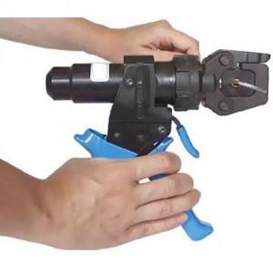 Presse de sertissage hydraulique manuelle PSM - Pour câbles Ø 0,9 mm à 5,4 mm