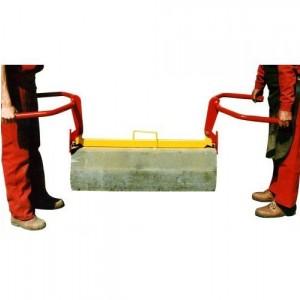Pince pour bordures de trottoir de 1 m BX01D avec guidons - Capacité 100 kg