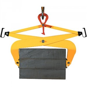 Pince de levage PB pour charges à faces parallèles - Capacité 0,5 t et 1 t