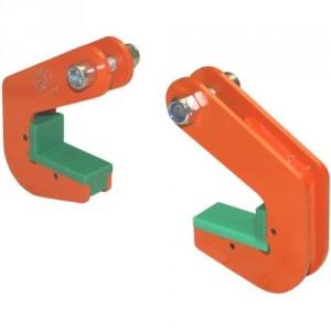 Crochets TPH pour tuyaux béton avec protection - Capacité 1,5 t à 20 t par paire