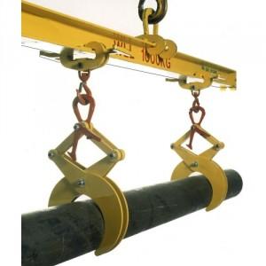 Pince RT pour ronds et tubes toutes matières - Capacité 0,5 t à 3 t unitaire