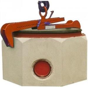 Pince réglable pour éléments béton - Capacité 1 t
