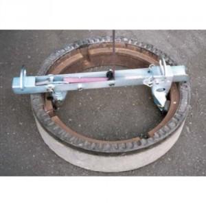 Pince IGR pour cadre et couvercle - Capacité 200 kg