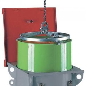 Pince pour fûts métalliques de 220 l - Capacité 0,30 t