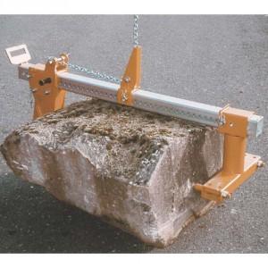 Pince PST réglable de 0 à 920 mm pour blocs de pierre de forme irrégulière - Capacité 1 t