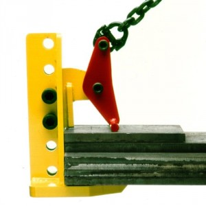 Pince TLR à prise réglable pour levage HORIZONTAL de plaques - Capacité 2 t à 10 t