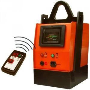 Porteur magnétique sur batterie BM avec télécommande IR - Capacité 1,35 t à 5 t
