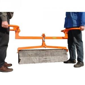 Pince réglable PBR pour bordures de 0,5 m à 1 m - Capacité 200 kg