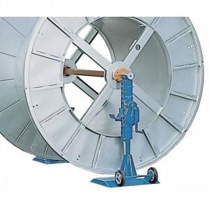 Vérin VZ avec cric à crémaillère pour bobines de câble - Capacité 3 t à 16 t par paire