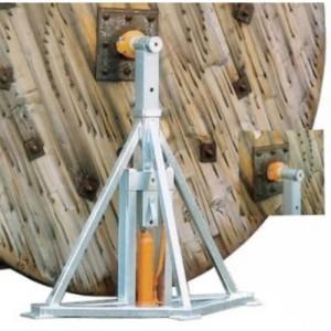 Vérin VD avec cric hydraulique pour bobines de câble - Capacité 40 t à 60 t par paire