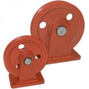 Réa sur bague bronze avec support RBZ - Ø 125 mm à 410 mm