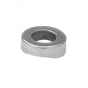 Rondelle spéciale INOX pour poteau rond pour filetage M6 et M10