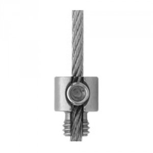 Arrêt d'extrémité inox pour câble Ø 3 mm et 4 mm