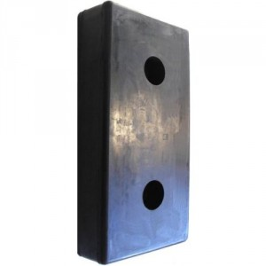 500x250 mm avec 2 trous Ø20/60 mm en épaisseur 80 mm, 1000 mm, 120 mm et 150 mm