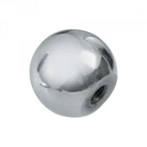 Boule inox taraudée M4 à M10, Ø 15 mm à 24 mm