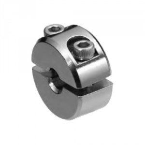 Anneau de serrage simple inox pour câble Ø 2 mm à 10 mm