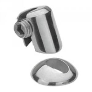 Arrêt multi-angle inox pour poteau plat, pour câble Ø 3 mm à 6 mm
