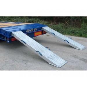VFR 134 - Rampes de chargement en aluminium pour porte engins - Capacité 19060 kg à 32040 kg par paire - Longueur 2,40 m à 3,02 m