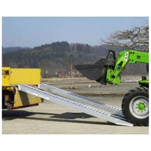 AVS 170 - Rampes de chargement en aluminium pour pneumatiques & chenilles caoutchouc - Capacité 3200 kg à 7870 kg par paire - Longueur 2,88 m à 5,48 m