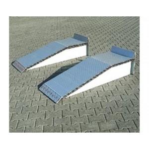 C - Cales de hauteur en aluminium - Capacité 12000 kg par paire - Longueur 1,44 m et 2,02 m