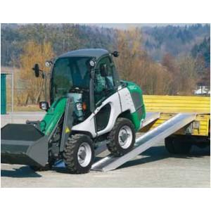 AVS 150 - Rampes de chargement en aluminium pour pneumatiques & chenilles caoutchouc - Capacité 3220 kg à 7710 kg par paire - Longueur 2,68 m à 5,08 m