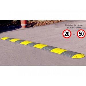 Ralentisseurs pour voies privées - Vitesse maxi 20 km/h et 50 km/h