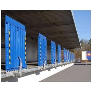 FBSV 5000 - Pont de liaison en acier articulé COULISSANT dans un rail avec lèvre d'appui 160 mm - Capacité 5000 kg