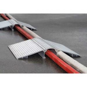 Passages de câbles & de tuyaux en aluminium Ø maxi 110 mm